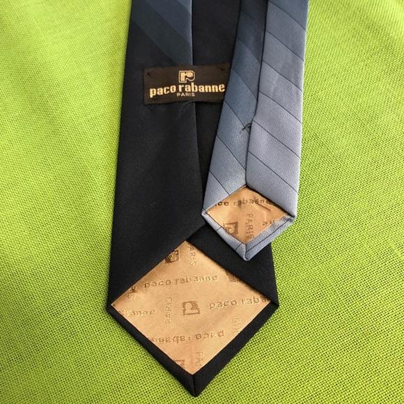 Paco Rabanne Paris Other - 🇺🇸SALE♦️Blue ambre Stripe Tie